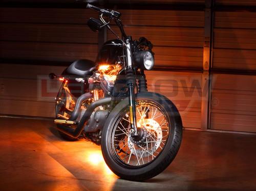 Orange SMD LED Motorcycle Underglow Lights
