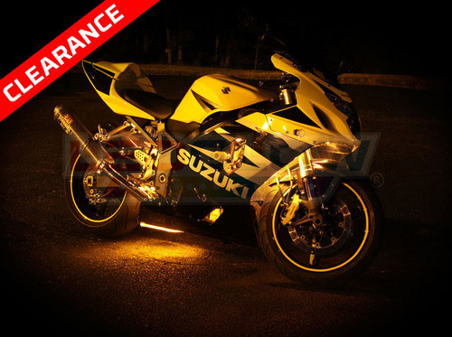 Yellow LED Motorcycle Accent Lighting Kit