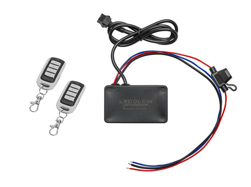 Advanced Million Color Motorcycle Control Box with Brake Light Wire Upgrade