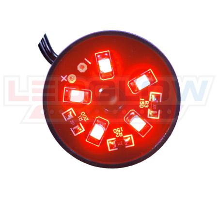 Red Motorcycle Pod LED Lighting Kit
