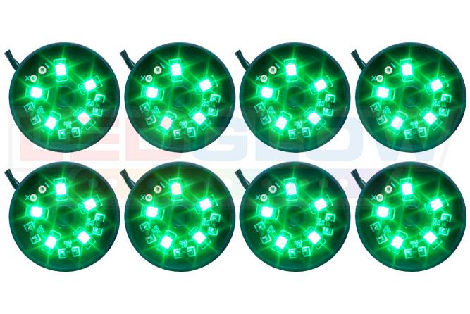 Green LED Pod Lighting Kit
