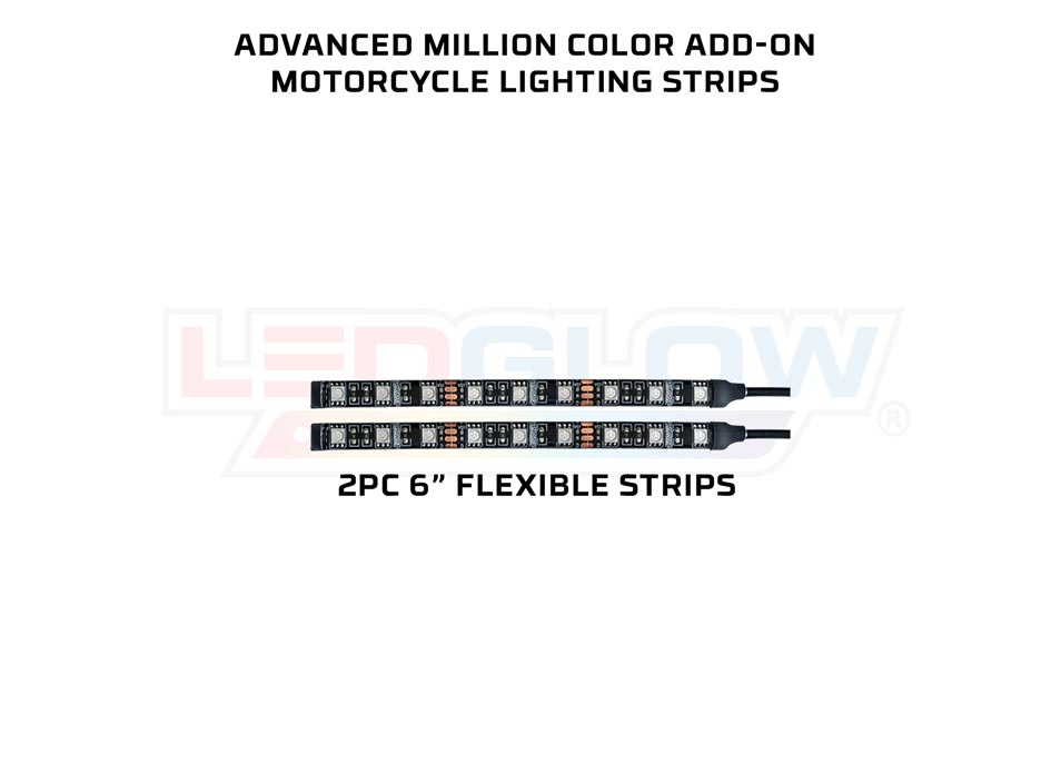 Advanced Million Color SMD Motorcycle Lighting Add-On Kit