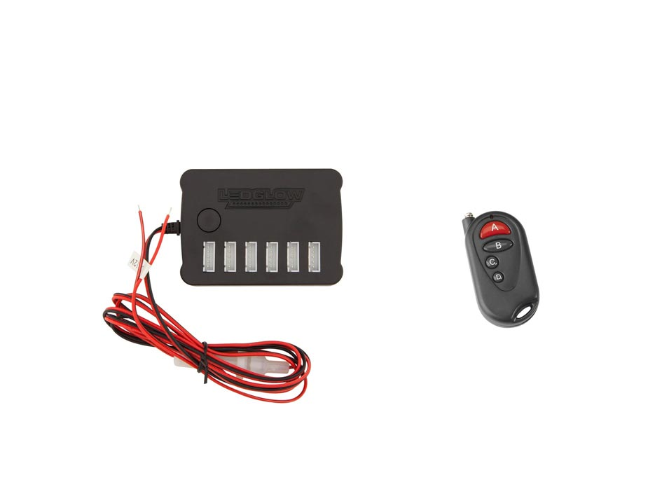 Replacement Flexible Million Color Control Box & Wireless Remote
