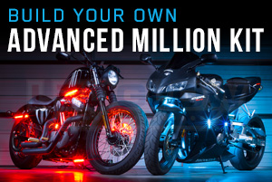 Build Your Own Advanced Million Color SMD LED Motorcycle Lighting Kit