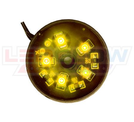 Yellow Motorcycle Pod LED Lighting Kit