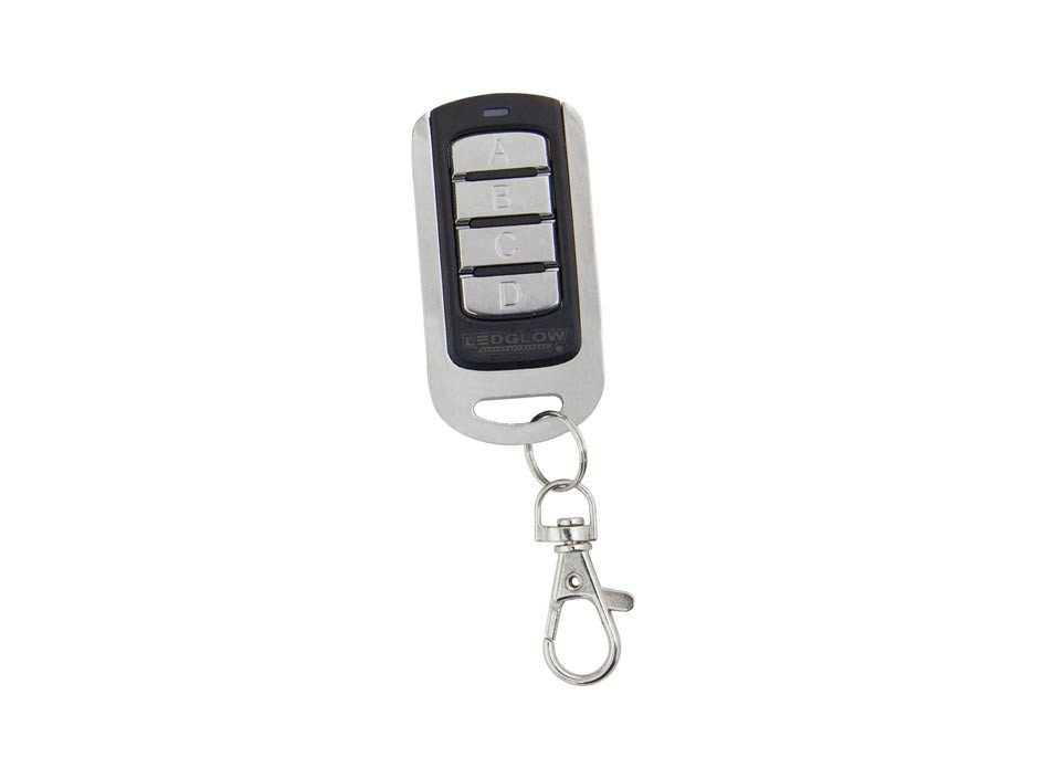 Replacement Motorcycle Lighting Kit 4 Button Wireless Remote