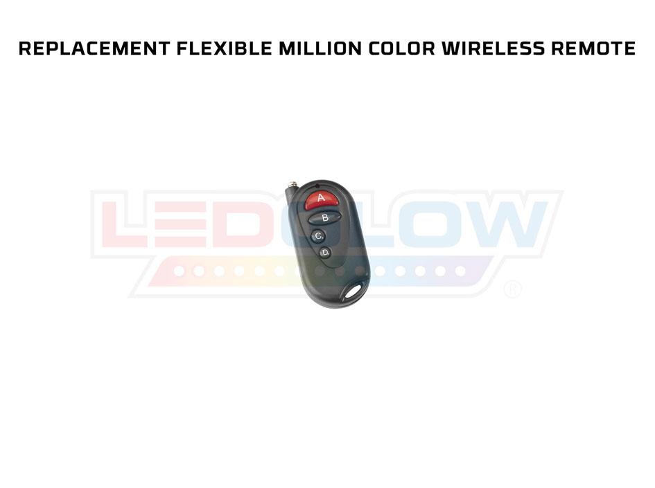 Replacement Premier / Flex Million Color 4 Button Wireless Remote