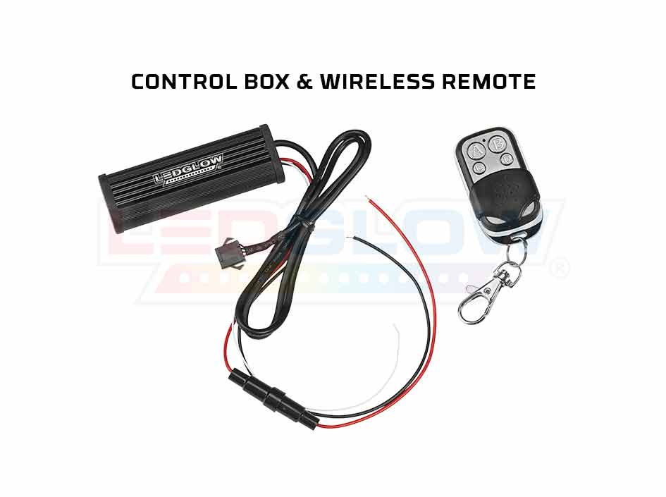 Classic Single Color Control Box & Wireless Remote