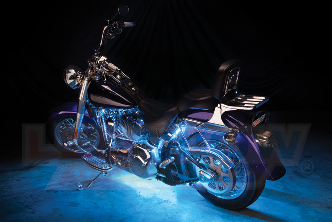 Ice Blue Motorcycle LED Lights
