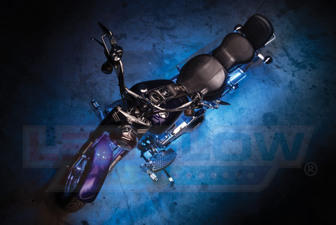 Ice Blue SMD LED Motorcycle Underglow Lights