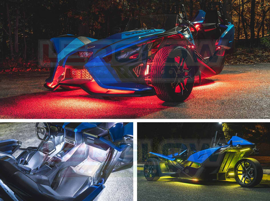 Advanced Million Color Slingshot® Lighting Kit with Smartphone Control
