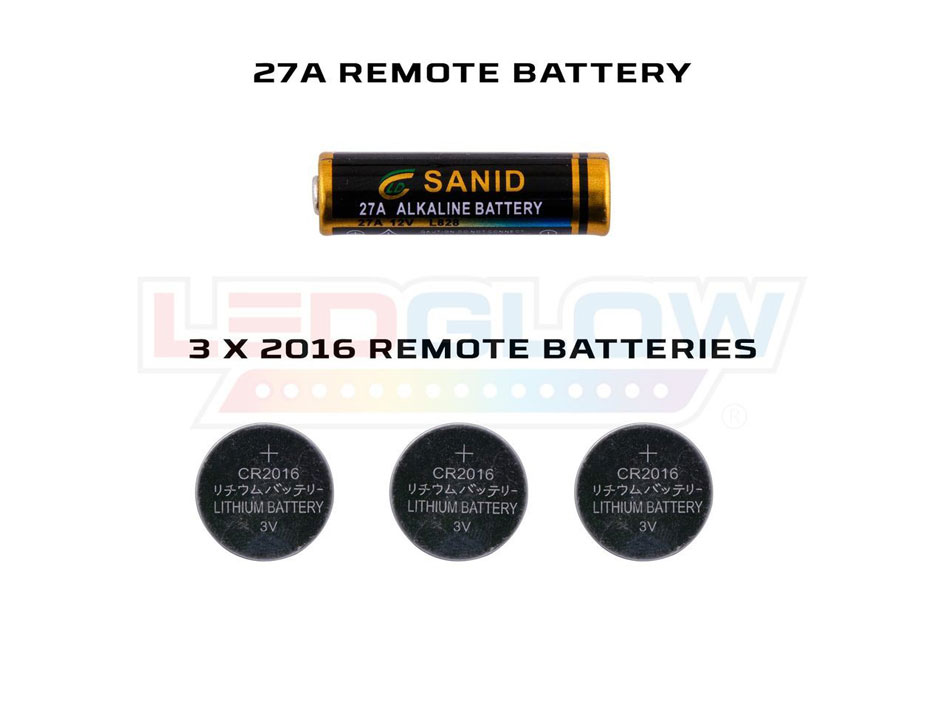 Replacement Wireless Remote Battery