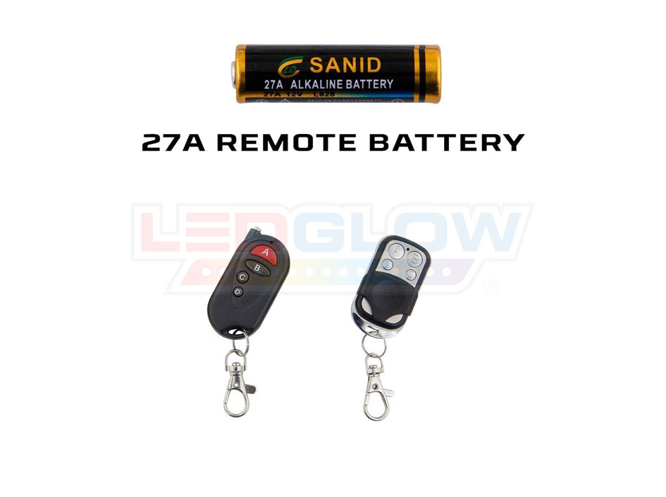 Remotes that Use 27a Battery