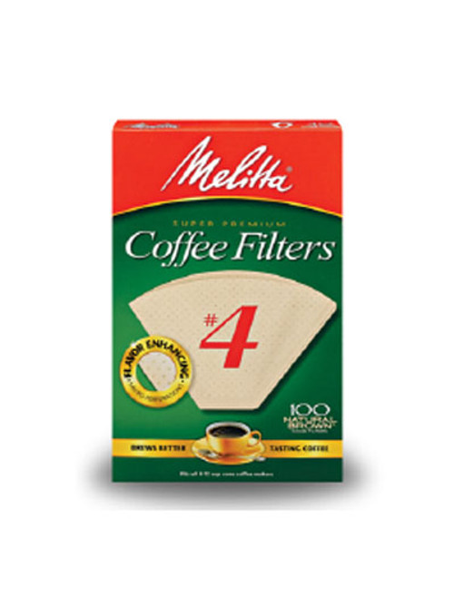 Melitta #4 Filters - Brown