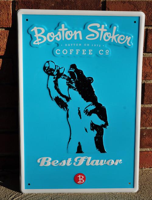 "Tin Tacker ""Best Flavor"" Sign"