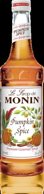 Monin Pumpkin Spice Syrup 750mL