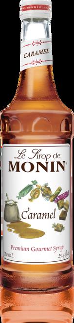 Monin Caramel Syrup 750mL