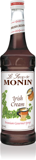 Monin Irish Cream Syrup 750mL