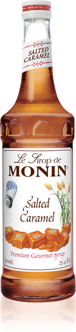 Monin Salted Caramel Syrup 750mL