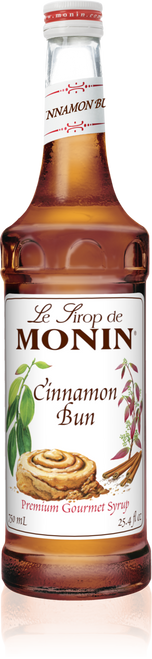 Monin Cinnamon Bun Syrup 750mL