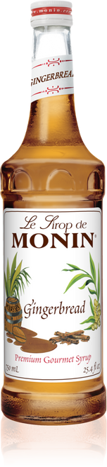 Monin Gingerbread Syrup 750mL
