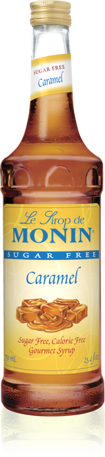 Monin Sugar Free Caramel Syrup 750mL
