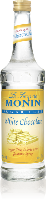 Monin Sugar Free White Chocolate Syrup 750mL