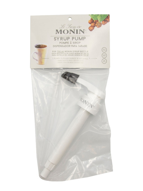 Monin Glass Bottle Syrup Pump