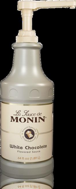 Monin White Chocolate Sauce 64 oz