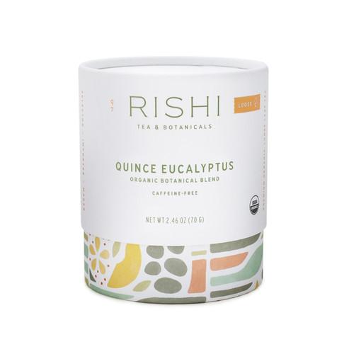 Quince Eucalyptus Tea