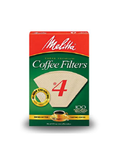 Melitta #4 Filters - Brown