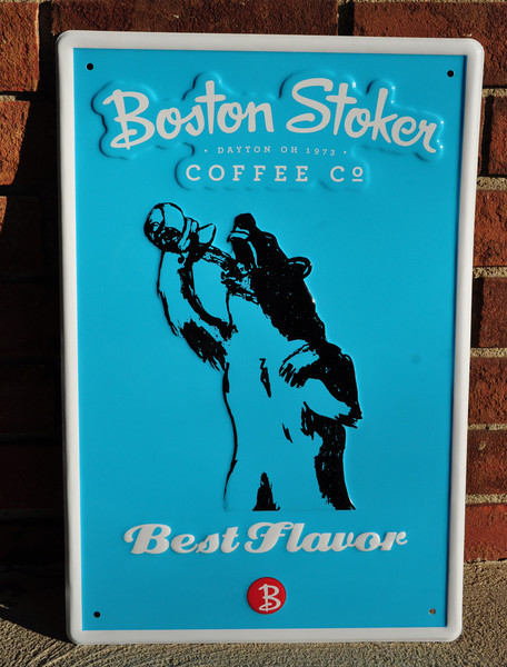 "Tin Tacker ""Best Flavor"" Sign"