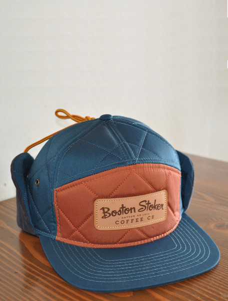 Diamond Quilted 7 Panel Strapback