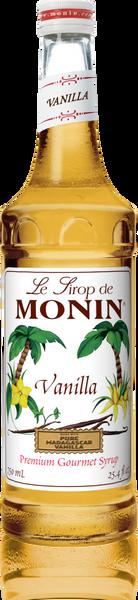 Monin Vanilla Syrup 750mL
