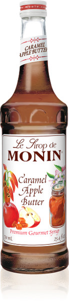 Monin Caramel Apple Butter Syrup 750 mL