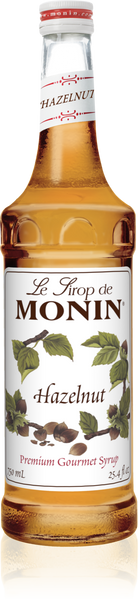 Monin Hazelnut Syrup 750mL