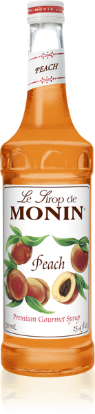 Monin Peach Syrup 750mL