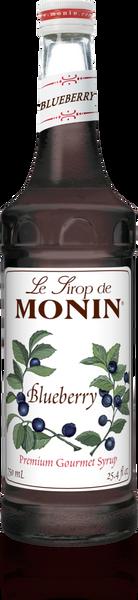 Monin Blueberry Syrup 750mL