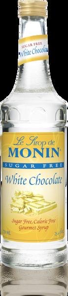 Monin Sugar Free White Chocolate Syrup 750mL