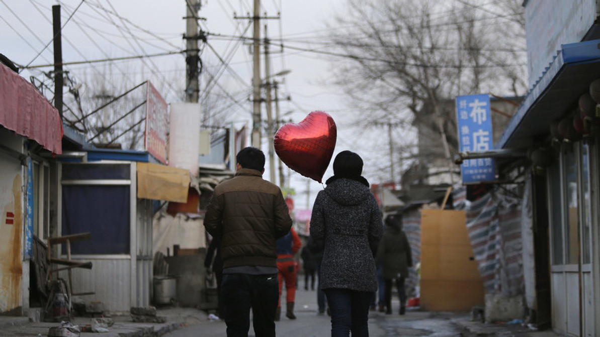 Chinese university offers course on love