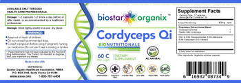 BioNutritionals, Cordyceps Qi (60 Caps)