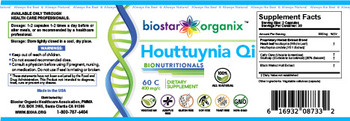 BioNutritionals, Houttuynia Qi (60 Caps)