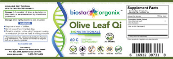 BioNutritionals, Olive Leaf Qi (60 Caps)