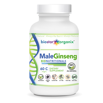 BioNutritionals, Male Ginseng (60 Caps)