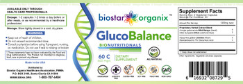 BioNutritionals, Gluco Balance (60 Caps)