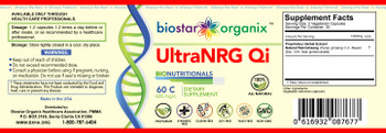 BioNutritionals, Ultra NRG Qi (60 Caps)