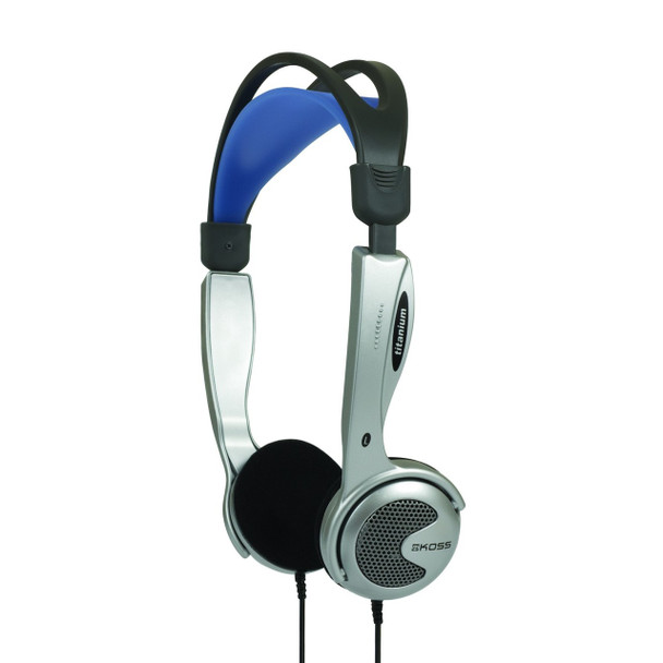 Koss KTXPRO1 Titanium Portable Headphones with Volume Control