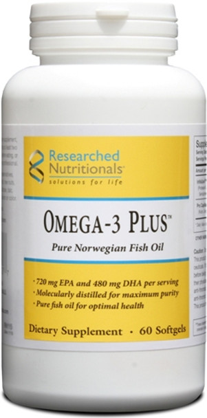 Researched Nutritionals, Omega-3 Plus