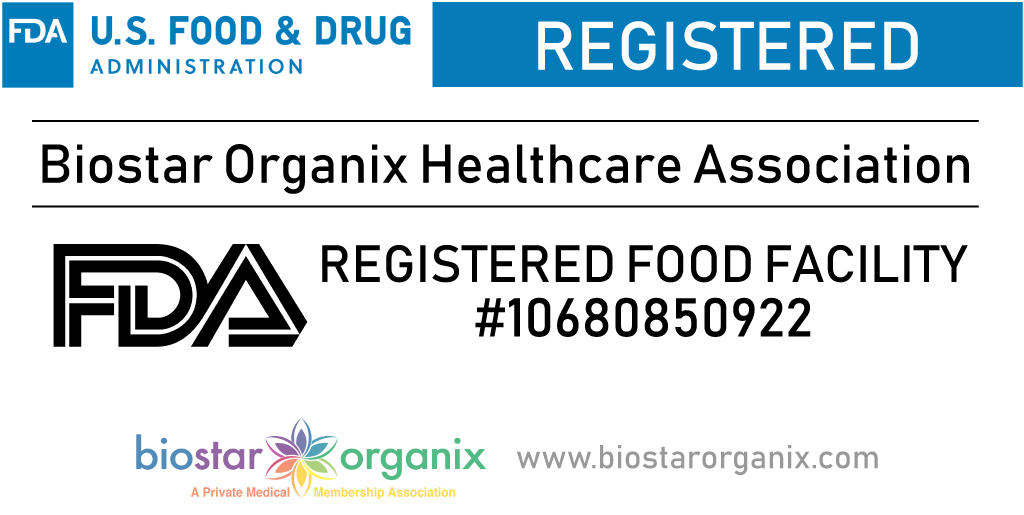 Biostar Organix FDA Registered Food Facility