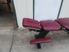 Used Chattanooga Ergo Bench Table with Pelvic Drop-Burgundy Top
